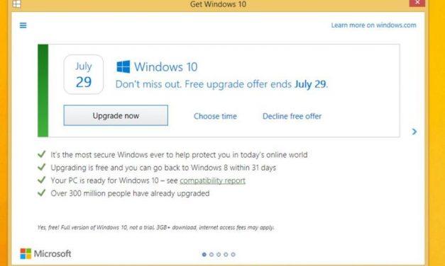 Windows 10 Upgrade Prompt Changes This Week