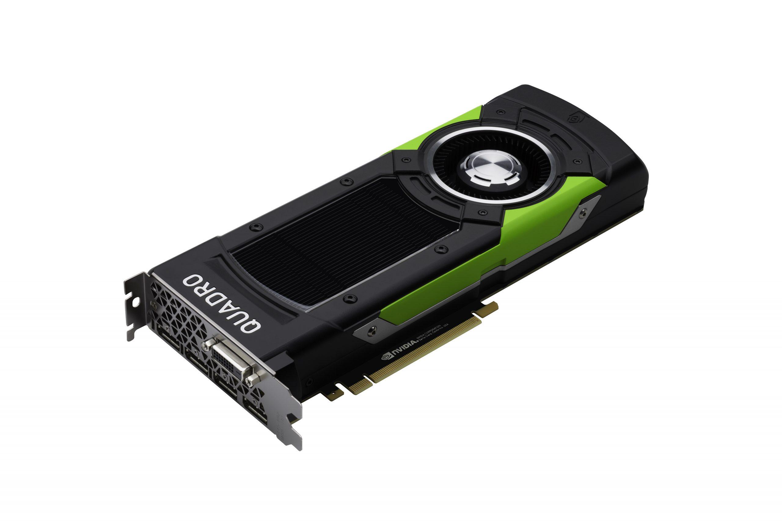 SIGGRAPH 2016 — NVIDIA Announces Pascal Quadro GPUs: Quadro P5000 and Quadro P6000
