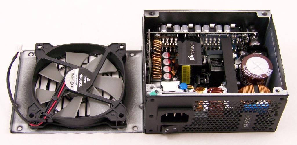 Corsair's SFX PSU, the SF600 600W