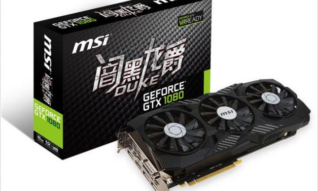 MSI DUKE GTX 1080 and 1070: More GP104 Versions!
