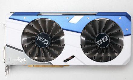 Palit's triple wide GTX 1080 GameRock Premium