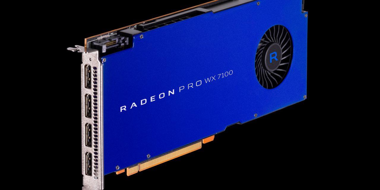 AMD Announces Radeon Pro WX Series Graphics Cards