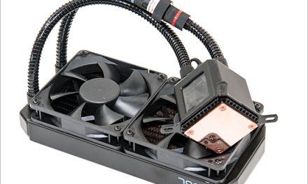 Alphacool Eisbaer 240 CPU Cooler, the Germanic Icewind