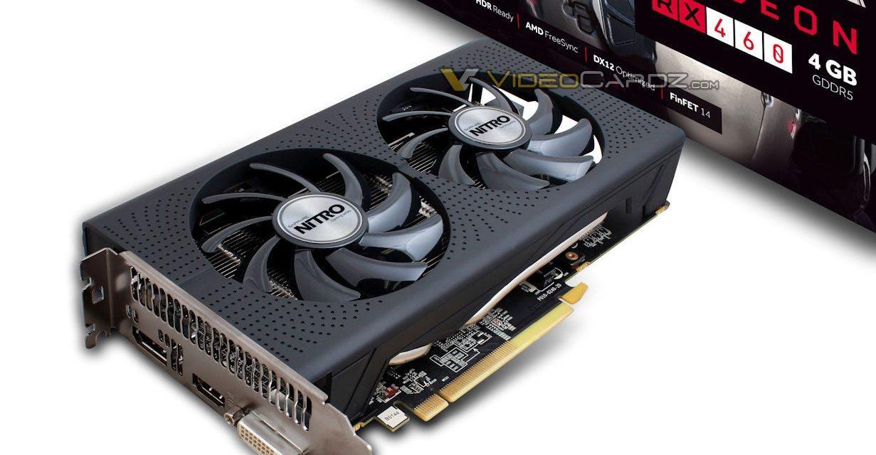 Sapphire Will Release Custom Radeon RX 460 Nitro OC Graphics Card
