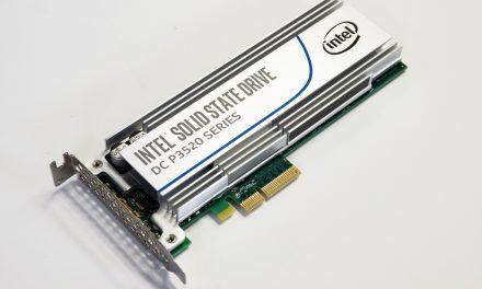 Intel SSD DC P3520 2TB Review – 3D NAND = $0.50/GB!