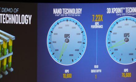 IDF 2016: Intel To Demo Optane XPoint, Announces Optane Testbed for Enterprise Customers