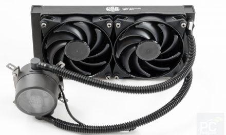 Cooler Master MasterLiquid Pro 240 Liquid CPU Cooler Review