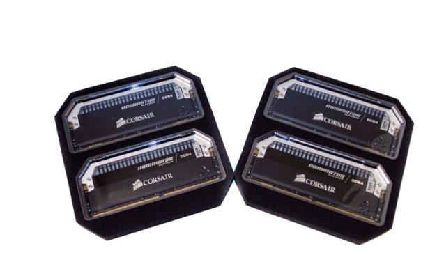 Corsair's Dominator Platinum, 64GB of DDR4-3200