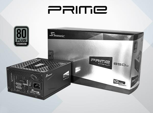 Seasonic PRIME 750W Titanium Power Supply Review