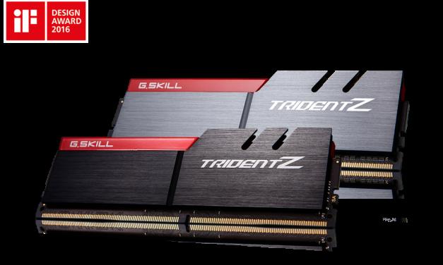 G.SKILL Announces Trident Z 4x8GB DDR4-3866 Kit