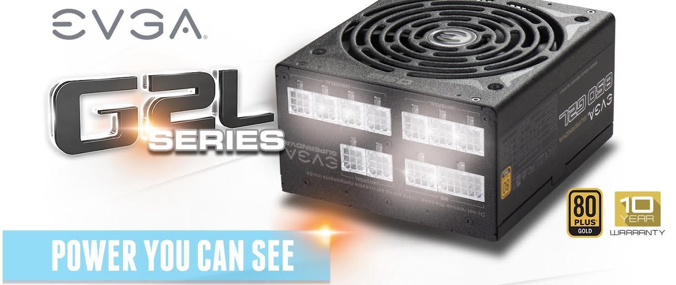 Introducing the EVGA SuperNOVA G2L Power Supply Series