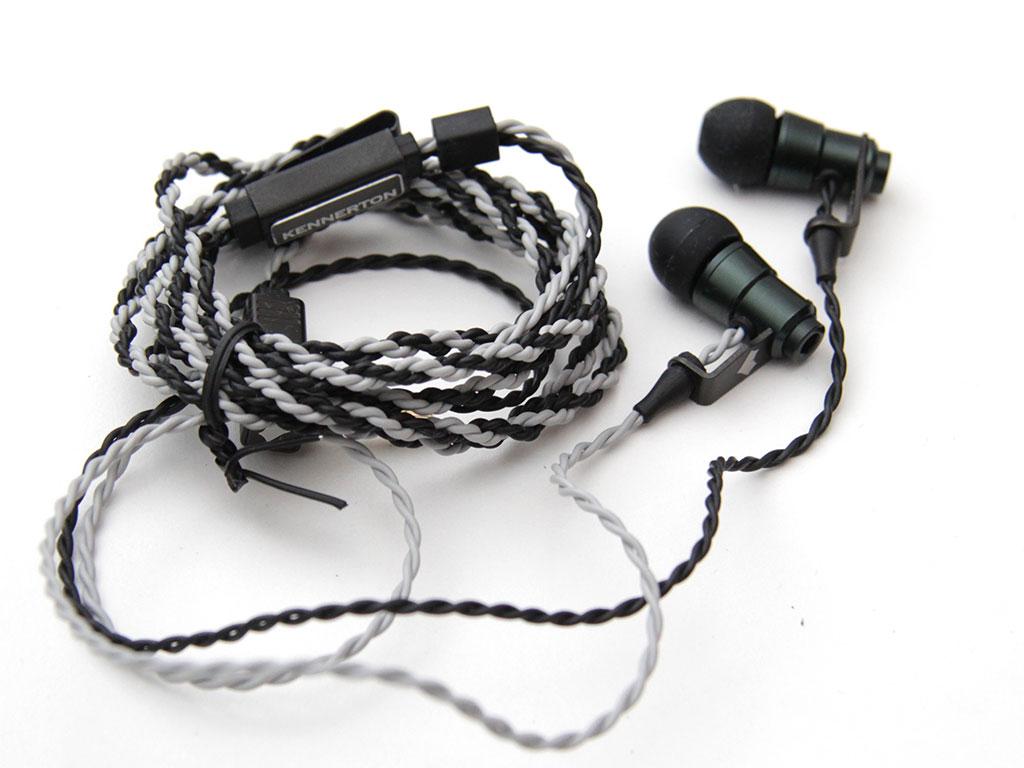 Shove some aluminium in your ears, Kennerton's Audio Laguz earbuds