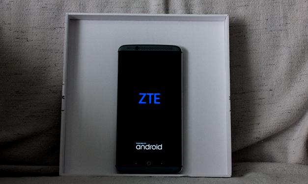 Just Delivered: ZTE Axon 7 (64GB Quartz Gray LTE)