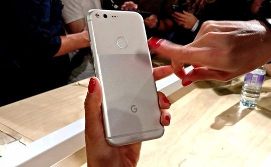Putting fingerprints on the Google Pixel