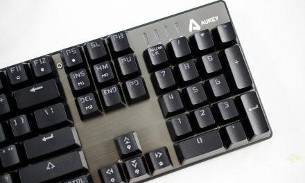AUKEY KM-G3 RGB Mechanical Gaming Keyboard Review