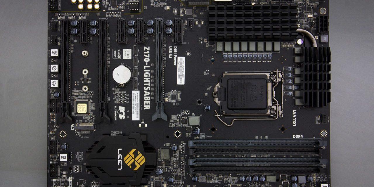 Lightsaber beats Claymore, ECS' improved Z170 motherboard