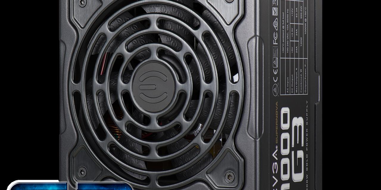 EVGA SuperNOVA G3 Power Supplies announced