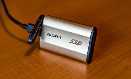 Small but tough, the ADATA SE730 external SSD