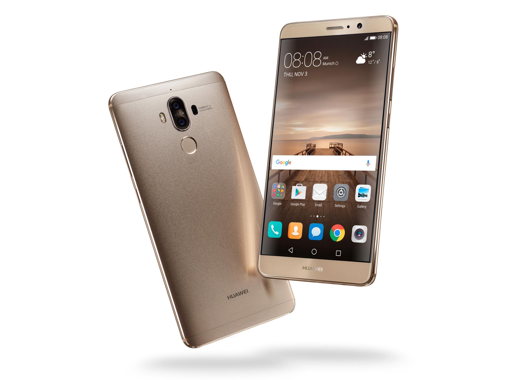 Huawei Announces Mate 9 Smartphone with Kirin 960 and Dual-Lens Leica Camera