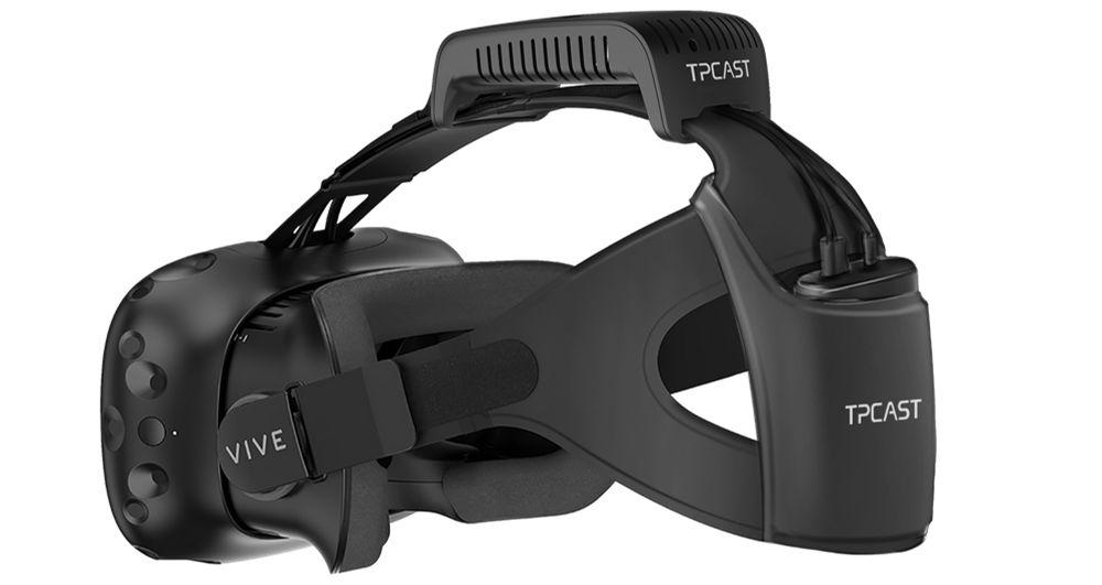 UploadVR Tries Wireless Vive Accessory by TPCAST