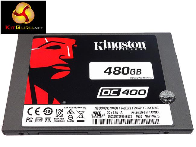 Kingston in the data centre?  The DC400 Enterprise SSD