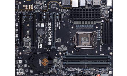 ECS Z170-Lightsaber Motherboard Review