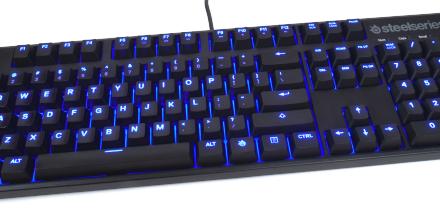 SteelSeries' Apex M500 keyboard, simple yet effective