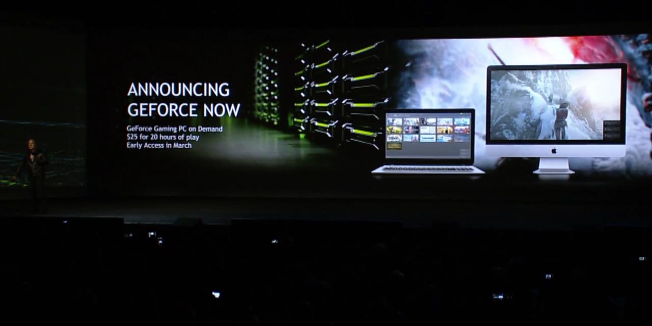 CES 2017: NVIDIA Announces GeForce Now for PCs