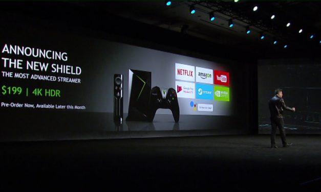 CES 2017: NVIDIA Announces New SHIELD TV Media Streamer