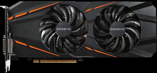 The Gigabyte GTX 1060 G6, a decent card with a bit of work