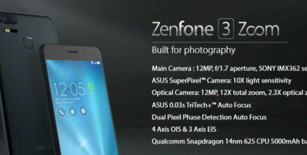 CES 2017: ASUS Announces ZenFone 3 Zoom