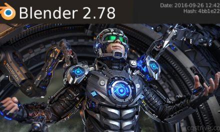 Blender Foundation Releases 2.78b… for Performance!