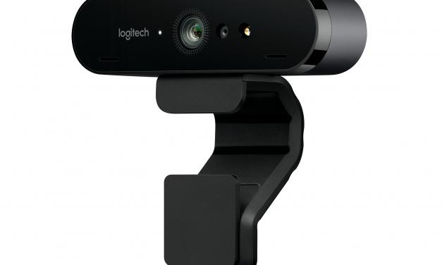 Logitech Announces BRIO Webcam: 4K and HDR