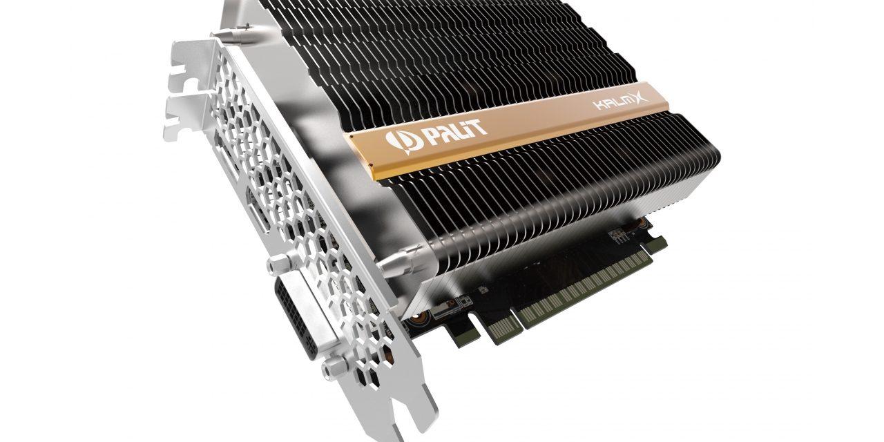 Palit Introduces Fanless GeForce GTX 1050 Ti KalmX GPU