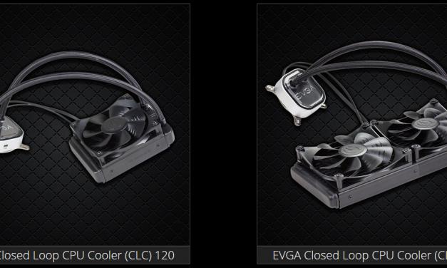 EVGA's new EVGA CLC 120 and 280 Liquid Coolers