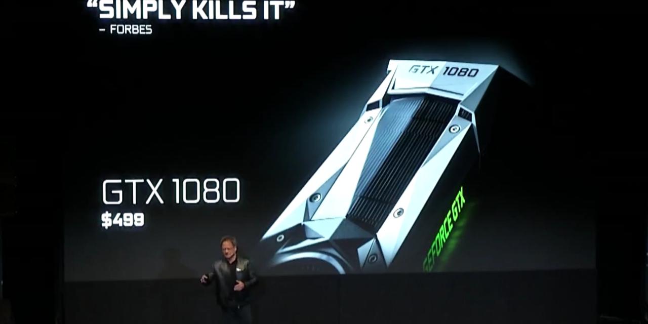 GDC: NVIDIA Announces GTX 1080 Price Drop to $499