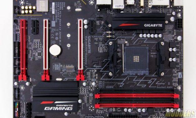 The clean cut Gigabyte GA-AB350-Gaming 3