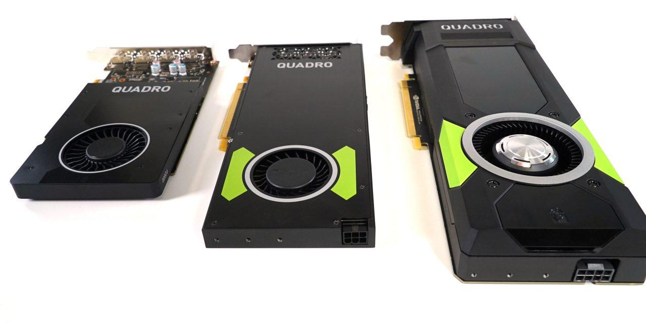 NVIDIA Pascal Quadro Roundup - P2000, P3000, P5000 Tested - PC