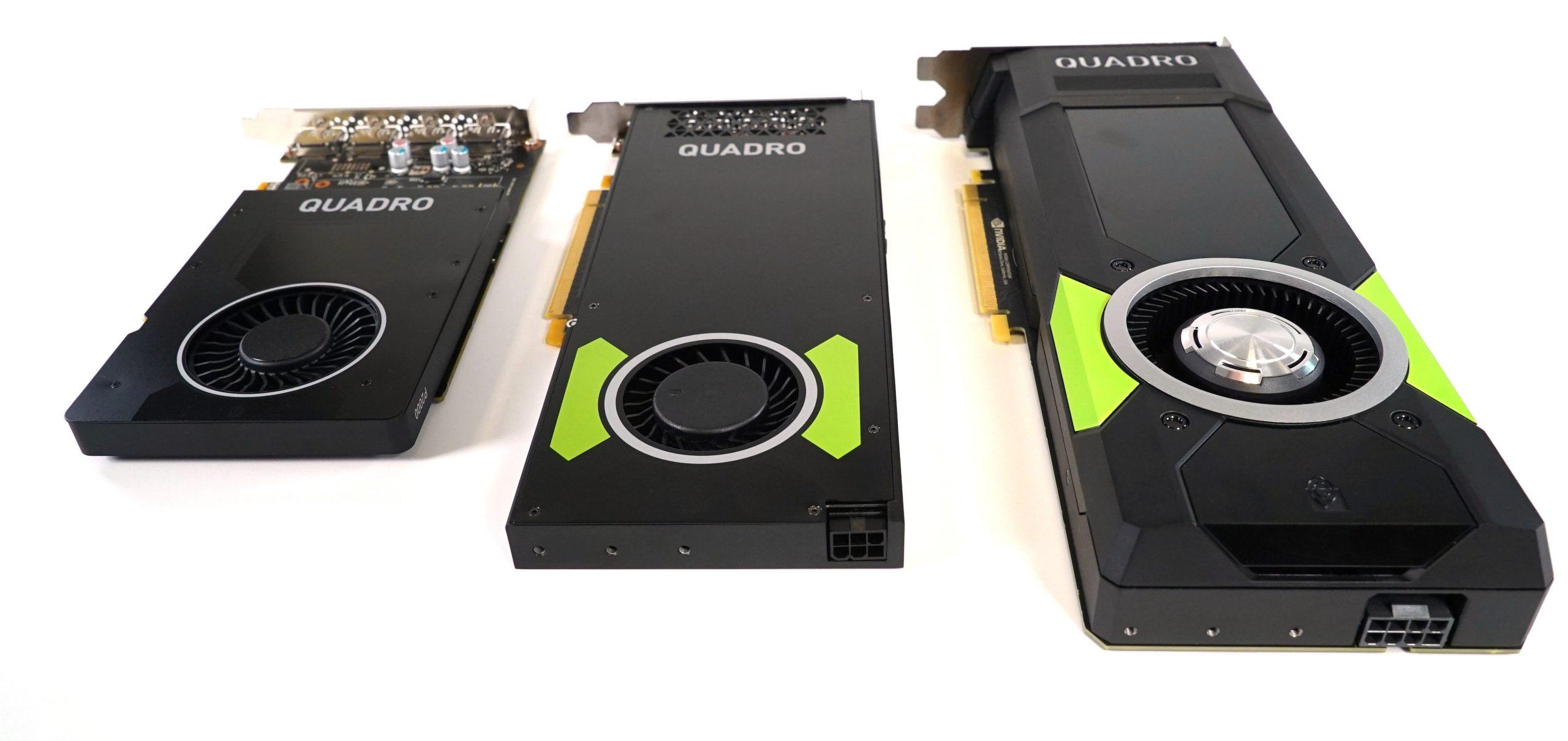NVIDIA Pascal Quadro Roundup – P2000, P3000, P5000 Tested