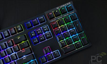 Topre REALFORCE RGB 108-key Mechanical Keyboard Review