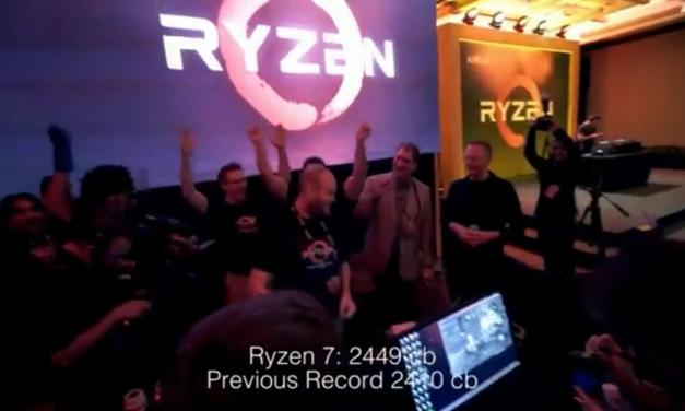 Overclockers Push Ryzen 7 1800X to 5.2 GHz On LN2, Break Cinebench Record