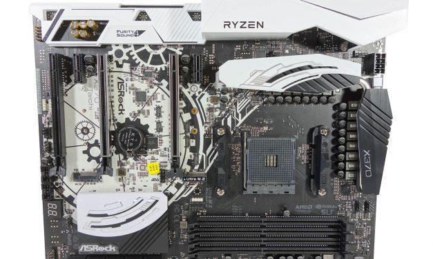 ASRock's X370 Taichi, meet AMD's new chipset