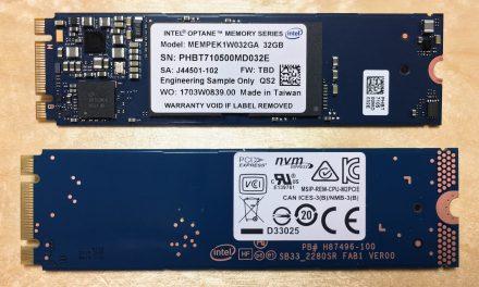 Intel Optane Memory 32GB Review – Faster Than Lightning