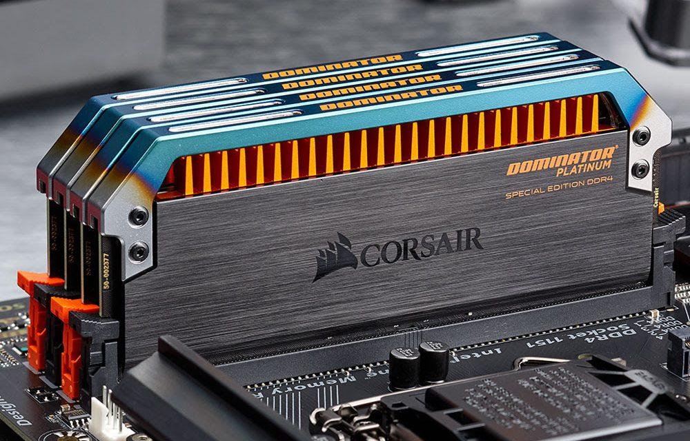 CORSAIR Launches DOMINATOR PLATINUM Special Edition Torque