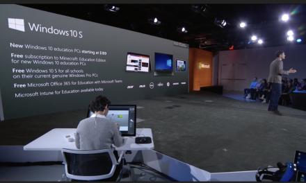 Microsoft Announces Windows 10 S for Education