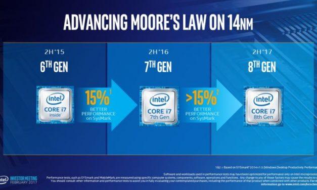 Computex 2017: Intel 8th Gen Core Processors 30% Faster than 7th Gen