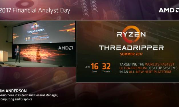 AMD's 16-Core Ryzen Threadripper CPUs Coming This Summer