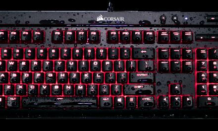 Computex 2017: Corsair K68 Spill-Resistant Mech. Keyboard