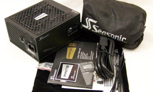 Seasonic's PRIME series of PSUs goes Platinum