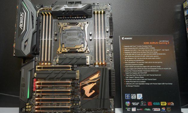 Computex 2017: GIGABYTE Announces X299 AORUS Motherboard Lineup